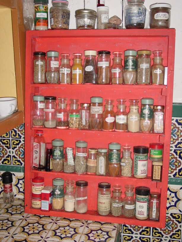 build a spice rack plans