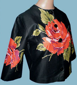 Rose Cropped Jacket from The Spectrum Vintage