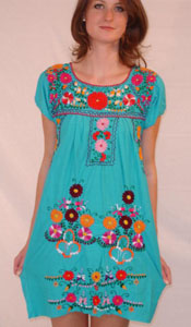 Folksy Embroidered Dress from Kitsch-y-Cool-Vintage