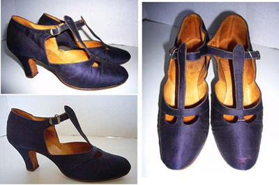 Divine Vintage 30s Shoes from Planet Claire Vintage