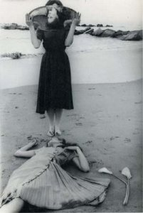 A Francesca Woodman photograph from Mia's blog