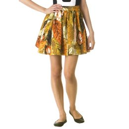 A twist on the floral fad: a $30 Tracy Feith barkcloth skirt on Target.com