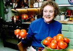 Julia Child portrait
